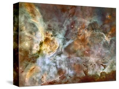 A 50-Light-Year-Wide View of the Central Region of the Carina Nebula-Stocktrek Images-Stretched Canvas Print
