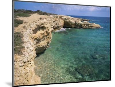 Rock Formations Along South Eastern Shore of the Island of Koufounissia, Lesser Cyclades, Greece-Richard Ashworth-Mounted Photographic Print