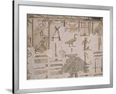Tomb of Horemheb, Valley of the Kings, Thebes, Unesco World Heritage Site, Egypt-Richard Ashworth-Framed Photographic Print