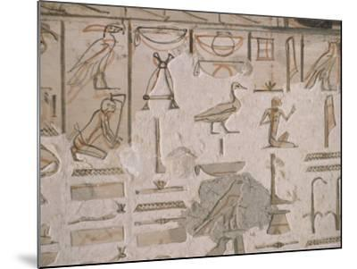 Tomb of Horemheb, Valley of the Kings, Thebes, Unesco World Heritage Site, Egypt-Richard Ashworth-Mounted Photographic Print