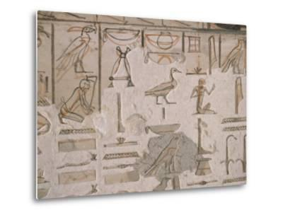 Tomb of Horemheb, Valley of the Kings, Thebes, Unesco World Heritage Site, Egypt-Richard Ashworth-Metal Print