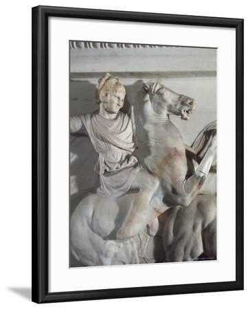 Sarcophagus of Alexander the Great, Istanbul, Turkey-Richard Ashworth-Framed Photographic Print