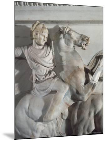 Sarcophagus of Alexander the Great, Istanbul, Turkey-Richard Ashworth-Mounted Photographic Print