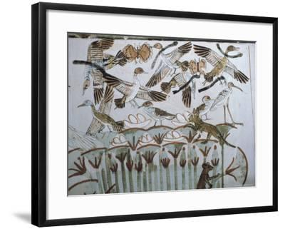 Wall Paintings, Tomb of Menna, Thebes,Unesco World Heritage Site, Egypt, North Africa, Africa-Richard Ashworth-Framed Photographic Print