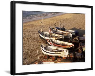 Fishing Boats, Cromer, Norfolk, England, United Kingdom-Charcrit Boonsom-Framed Photographic Print