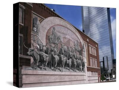 Fort Worth, Texas, USA-Charles Bowman-Stretched Canvas Print