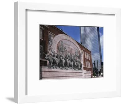 Fort Worth, Texas, USA-Charles Bowman-Framed Photographic Print