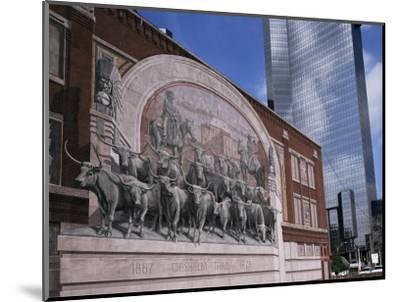 Fort Worth, Texas, USA-Charles Bowman-Mounted Photographic Print