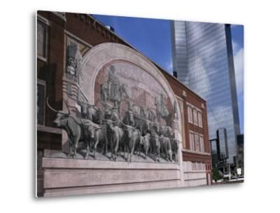 Fort Worth, Texas, USA-Charles Bowman-Metal Print