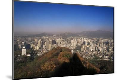 Seoul, South Korea, Korea-Charles Bowman-Mounted Photographic Print