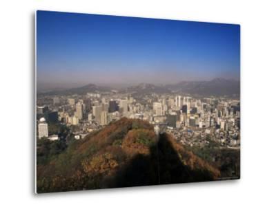 Seoul, South Korea, Korea-Charles Bowman-Metal Print