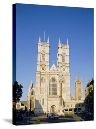 Westminster Abbey, London, England, UK-Charles Bowman-Stretched Canvas Print