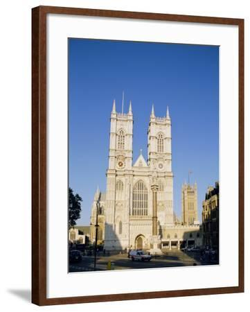 Westminster Abbey, London, England, UK-Charles Bowman-Framed Photographic Print