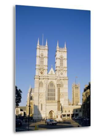 Westminster Abbey, London, England, UK-Charles Bowman-Metal Print