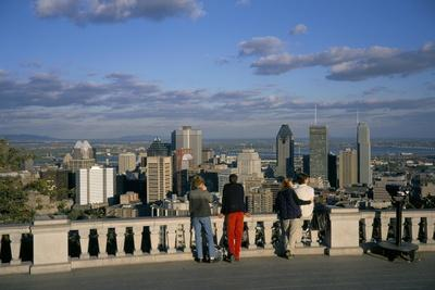 Montreal, Quebec State, Canada-Charles Bowman-Stretched Canvas Print