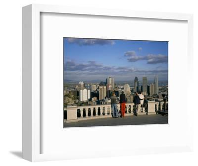 Montreal, Quebec State, Canada-Charles Bowman-Framed Photographic Print