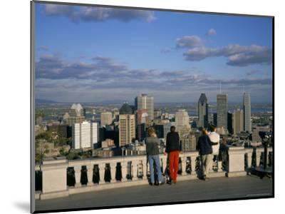 Montreal, Quebec State, Canada-Charles Bowman-Mounted Photographic Print
