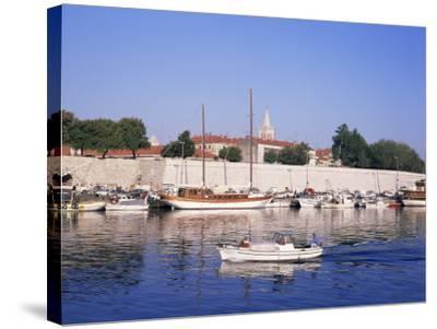 Zadar, Dalmatian Coast, Croatia-Charles Bowman-Stretched Canvas Print