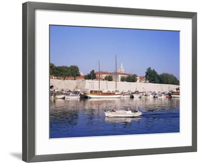 Zadar, Dalmatian Coast, Croatia-Charles Bowman-Framed Photographic Print