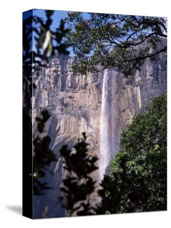 Angel Falls, Canaima National Park, Unesco World Heritage Site, Venezuela, South America-Charles Bowman-Stretched Canvas Print
