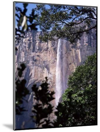Angel Falls, Canaima National Park, Unesco World Heritage Site, Venezuela, South America-Charles Bowman-Mounted Photographic Print
