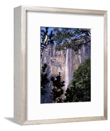 Angel Falls, Canaima National Park, Unesco World Heritage Site, Venezuela, South America-Charles Bowman-Framed Photographic Print