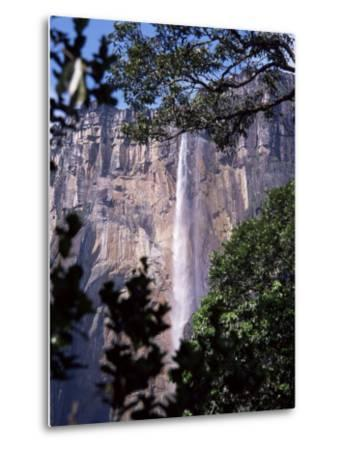 Angel Falls, Canaima National Park, Unesco World Heritage Site, Venezuela, South America-Charles Bowman-Metal Print