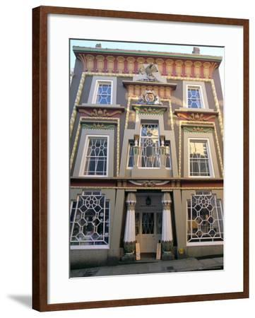 Egyptian House, Penzance, Cornwall, England, United Kingdom-Charles Bowman-Framed Photographic Print