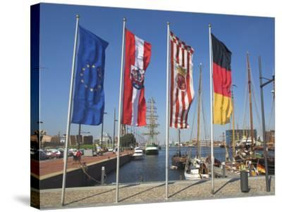 Bremerhaven, Bremen, Germany-Charles Bowman-Stretched Canvas Print
