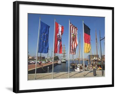 Bremerhaven, Bremen, Germany-Charles Bowman-Framed Photographic Print
