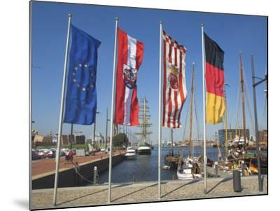 Bremerhaven, Bremen, Germany-Charles Bowman-Mounted Photographic Print