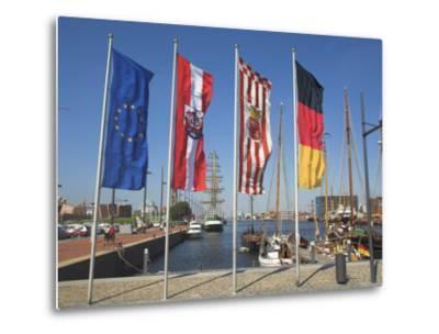 Bremerhaven, Bremen, Germany-Charles Bowman-Metal Print