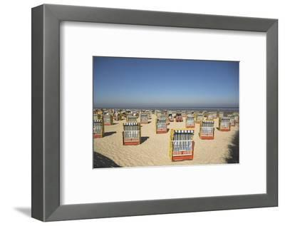 Cuxhaven, Lower Saxony, Germany-Charles Bowman-Framed Photographic Print