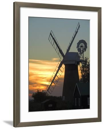 Thurne Broad, Norfolk, England, United Kingdom-Charles Bowman-Framed Photographic Print