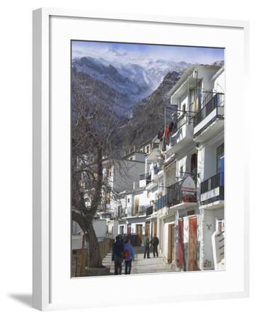 Trevelez, Sierra Nevada, Andalucia, Spain-Charles Bowman-Framed Photographic Print