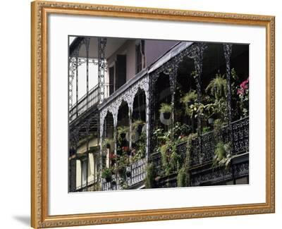 French Quarter, New Orleans, Louisiana, USA-Charles Bowman-Framed Photographic Print