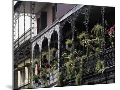 French Quarter, New Orleans, Louisiana, USA-Charles Bowman-Mounted Photographic Print