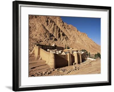 St. Catherine's Monastery, Unesco World Heritage Site, Sinai, Egypt, North Africa, Africa-Julia Bayne-Framed Photographic Print
