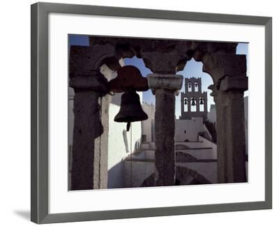 Monastery of St. John, Patmos, Dodecanese Islands, Greece-David Beatty-Framed Photographic Print