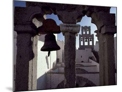 Monastery of St. John, Patmos, Dodecanese Islands, Greece-David Beatty-Mounted Photographic Print
