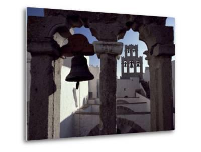 Monastery of St. John, Patmos, Dodecanese Islands, Greece-David Beatty-Metal Print