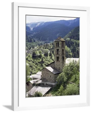 Church of St. Climent De Pal, Pal, Andorra-Pearl Bucknall-Framed Photographic Print