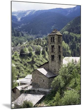 Church of St. Climent De Pal, Pal, Andorra-Pearl Bucknall-Mounted Photographic Print