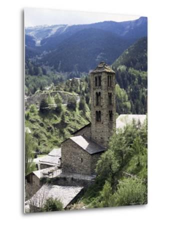 Church of St. Climent De Pal, Pal, Andorra-Pearl Bucknall-Metal Print