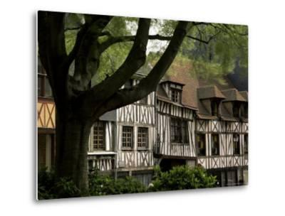Timber-Framed Houses in the Restored City Centre, Rouen, Haute Normandie (Normandy), France-Pearl Bucknall-Metal Print