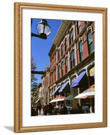 Larimer Square, Denver, Colorado, USA-Jean Brooks-Framed Photographic Print