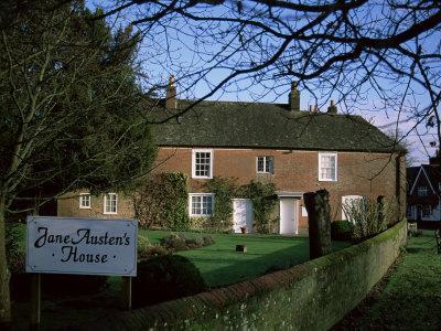 Jane Austen's House, Chawton, Hampshire, England, United Kingdom-Jean Brooks-Framed Photographic Print