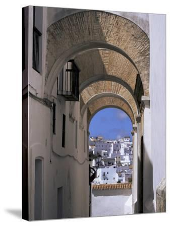 Arch of the Monjas, Vejer De La Frontera, Andalucia, Spain-Jean Brooks-Stretched Canvas Print