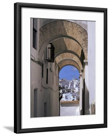 Arch of the Monjas, Vejer De La Frontera, Andalucia, Spain-Jean Brooks-Framed Photographic Print