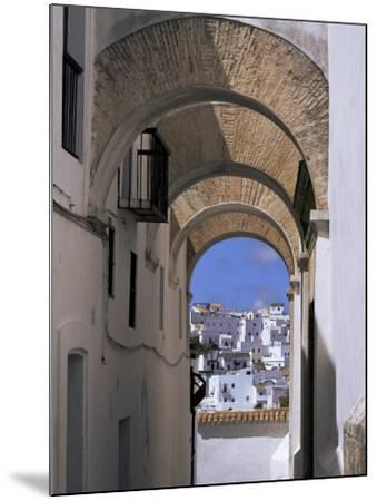 Arch of the Monjas, Vejer De La Frontera, Andalucia, Spain-Jean Brooks-Mounted Photographic Print